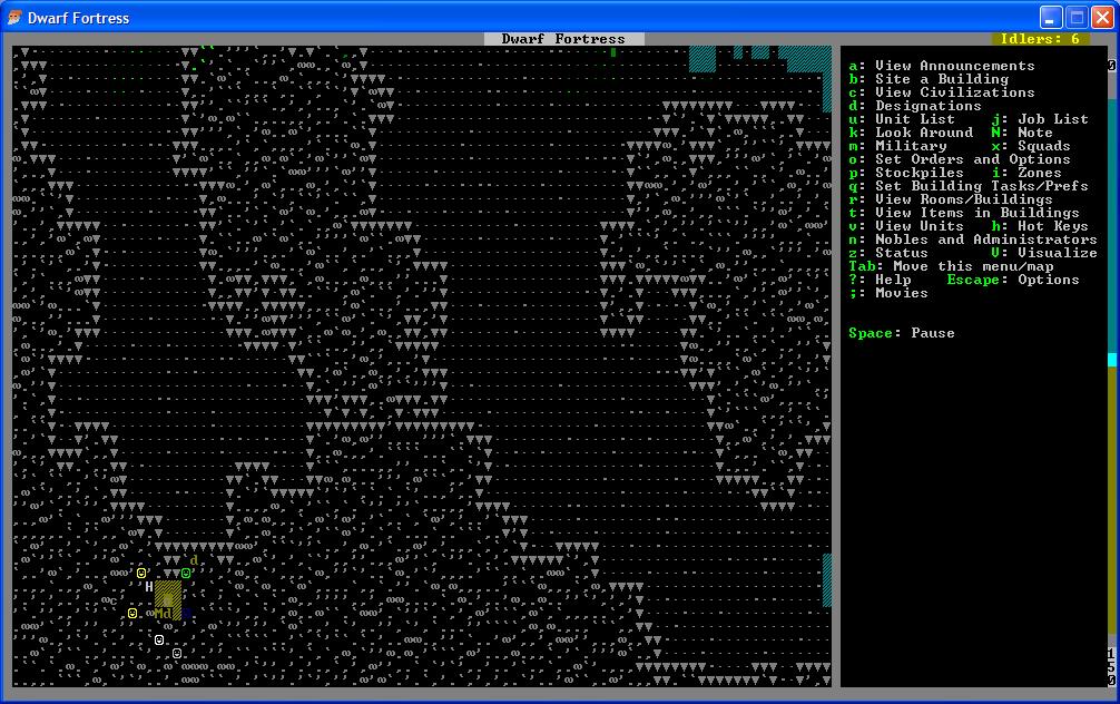 Dwarf Fortress - очередной глоток свежего ASCII - Версия для